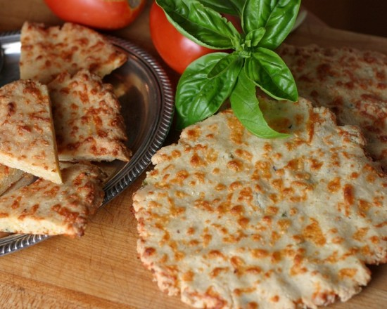 Cheese bread pizza pie crust