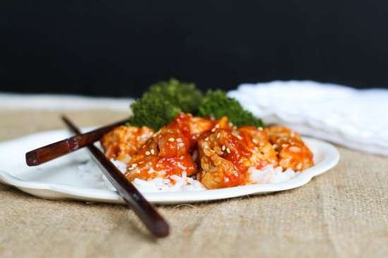 Orange Sesame Chicken - Comfy Belly
