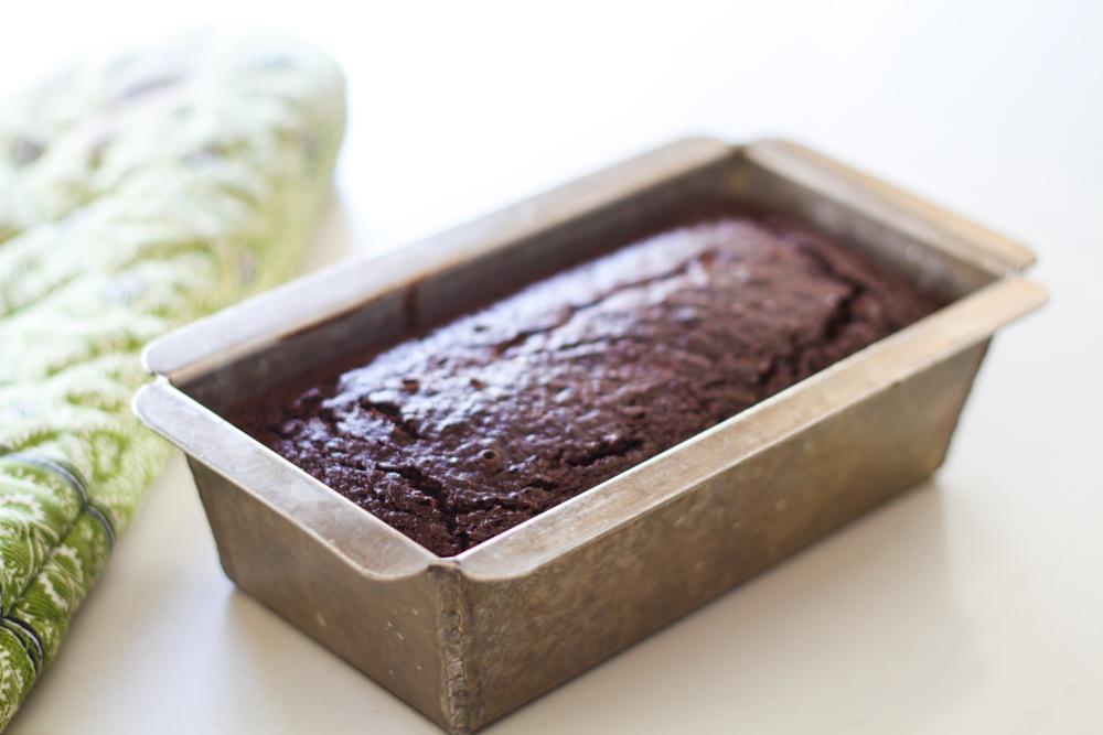 Chocolate Zucchini Bread {using almond flour}