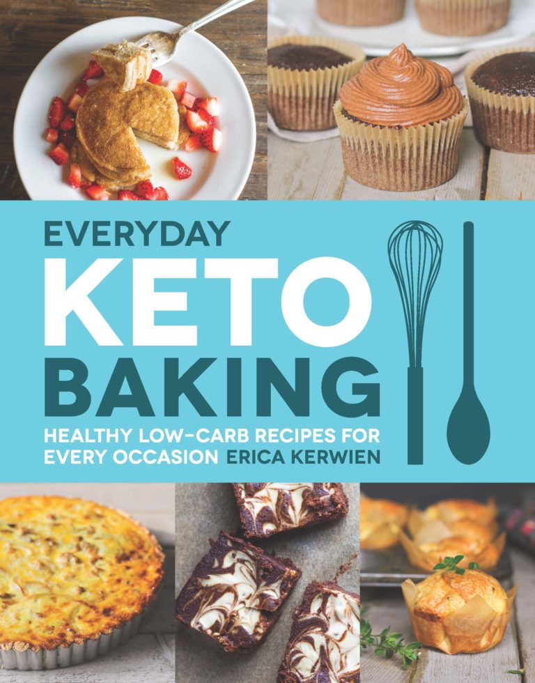 Everyday Keto Baking by Erica Kerwien - Comfy Belly